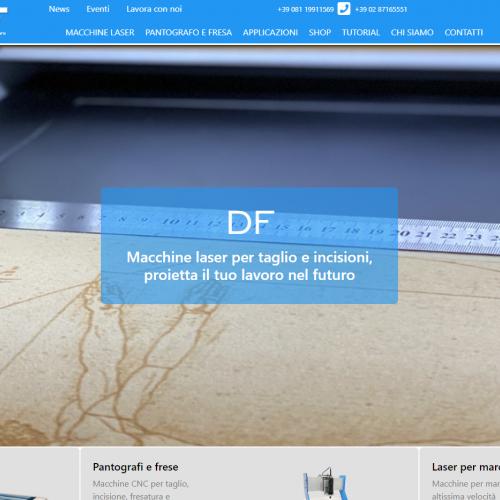 DF Fiore Installazioni - Macchine laser e pantografi CNC